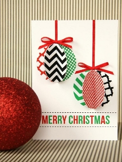 Как сделать детскую открытку с новым годом