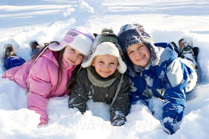 Детский лагерь на зимние каникулы
